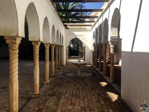 Colonnades de la villa Abd-El-Tif