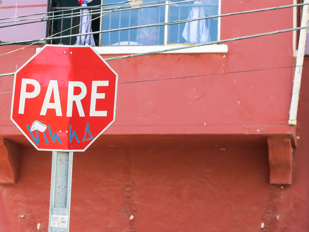 Señales en Valparaíso
