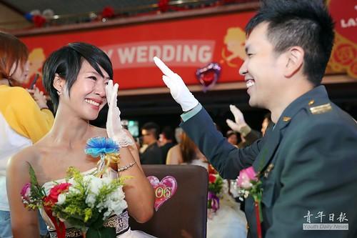 106年陸軍聯合婚禮