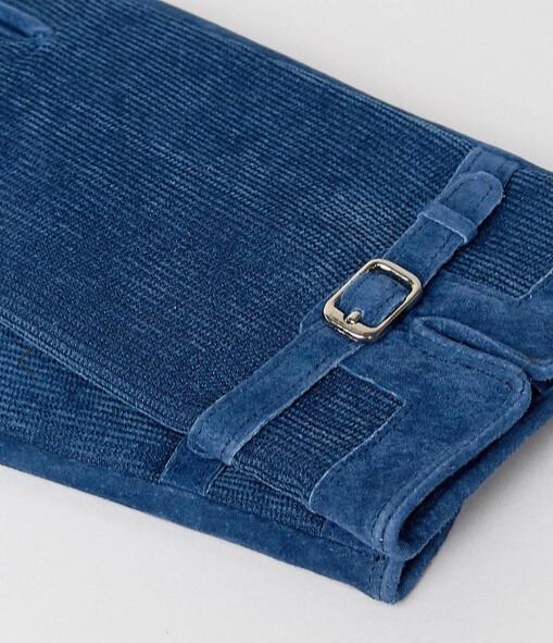 ASOS перчатки синие 2