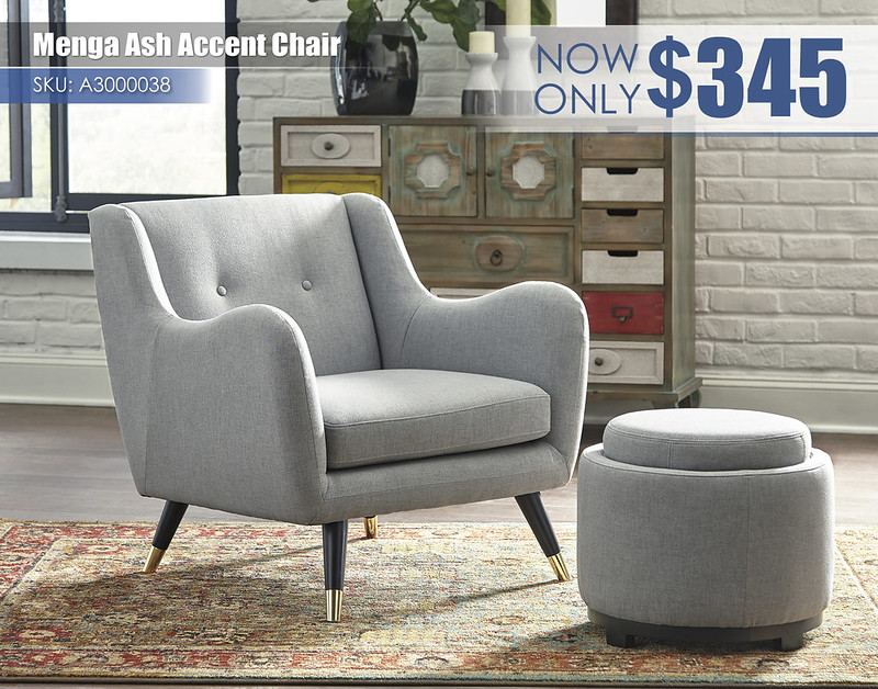 A3000038-37 - Menga Ash Accent Chair $345
