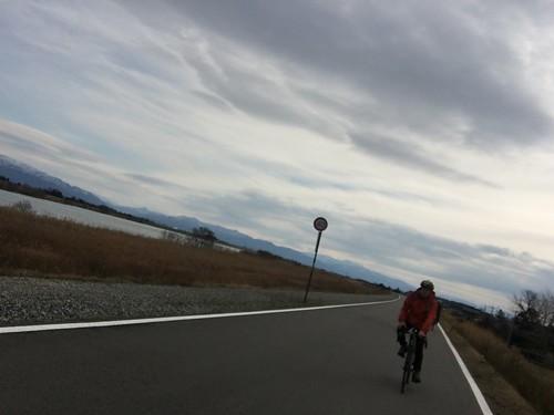 二日目福井から東尋坊まで漕いでた途中のなんかいい感じの写真。
