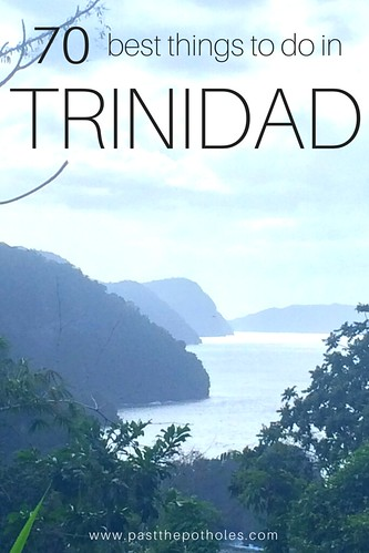 view across the North Coast of Trinidad from Bamboo Cathedral