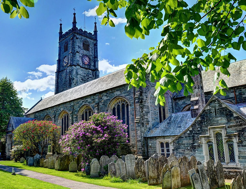 St Eustachius' Church, Tavistock, Devon. Credit Baz Richardson, flickr