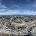 Minarets Above Deadhorse and Beck Lakes - Sierra by Bruce Lemons