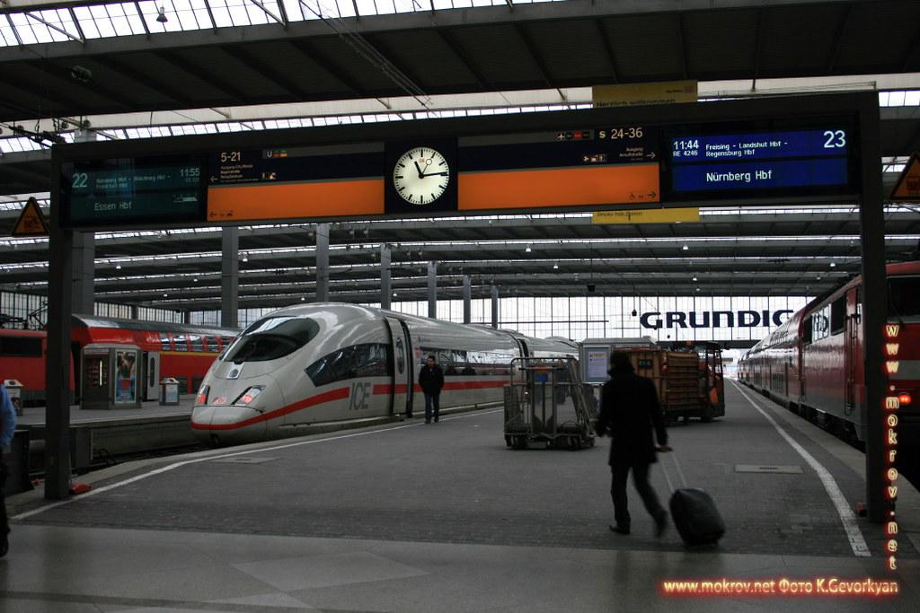 Мюнхен — город на реке Изар на юге Германии фотографии