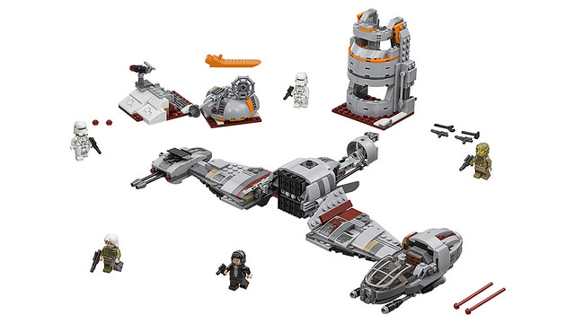 LEGO Star Wars 75202 - Defense of Crait
