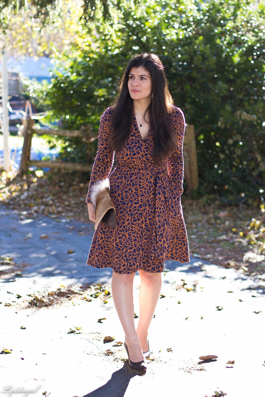 printed wrap dress, springbok clutch, thanksgiving outfit-12.jpg