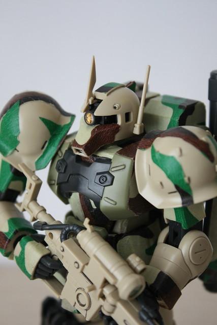 [HGUC] MS-05L Zaku I Sniper Type[Yonem Kirks] ver. Woodland Camouflage