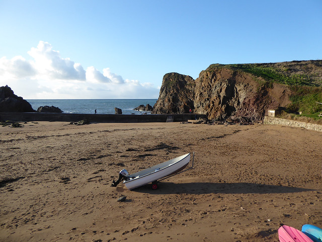 Hope Cove Harbour Beach