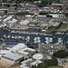 Lowestoft marinas aerial