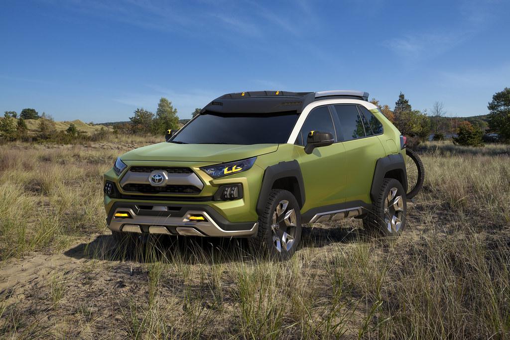 Future Toyota Adventure Concept revealed at the 2017 LA Auto Show
