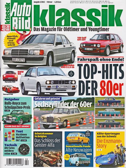 Auto Bild Klassik 2/2013