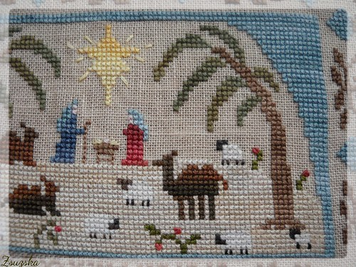 homespun elegance, cross stitch, christmas, holiest of nights (3)