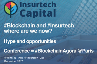#Blockchain #Insurtech - hype and opportunities