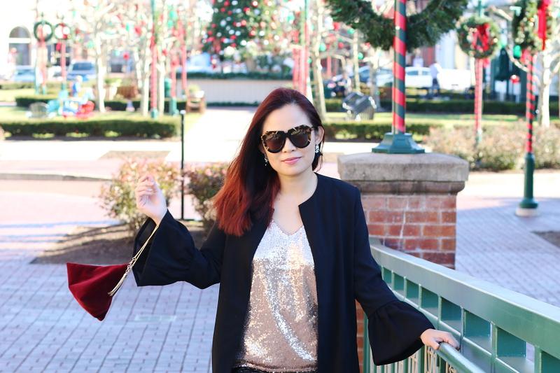sequin-top-black-blazer-jacket-velvet-bag-5