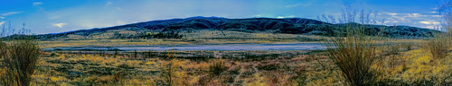 elizabethlake sierrapelonamountains sanandreasfault angelesnationalforest leonavalley losangeles california panoramic panorama joelach
