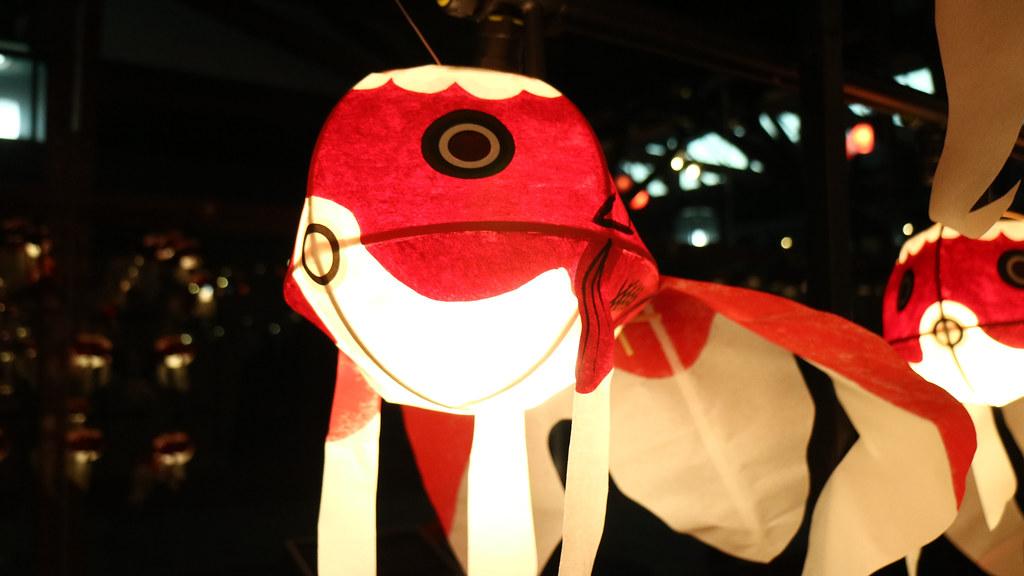 Lanterns at Hyper Japan