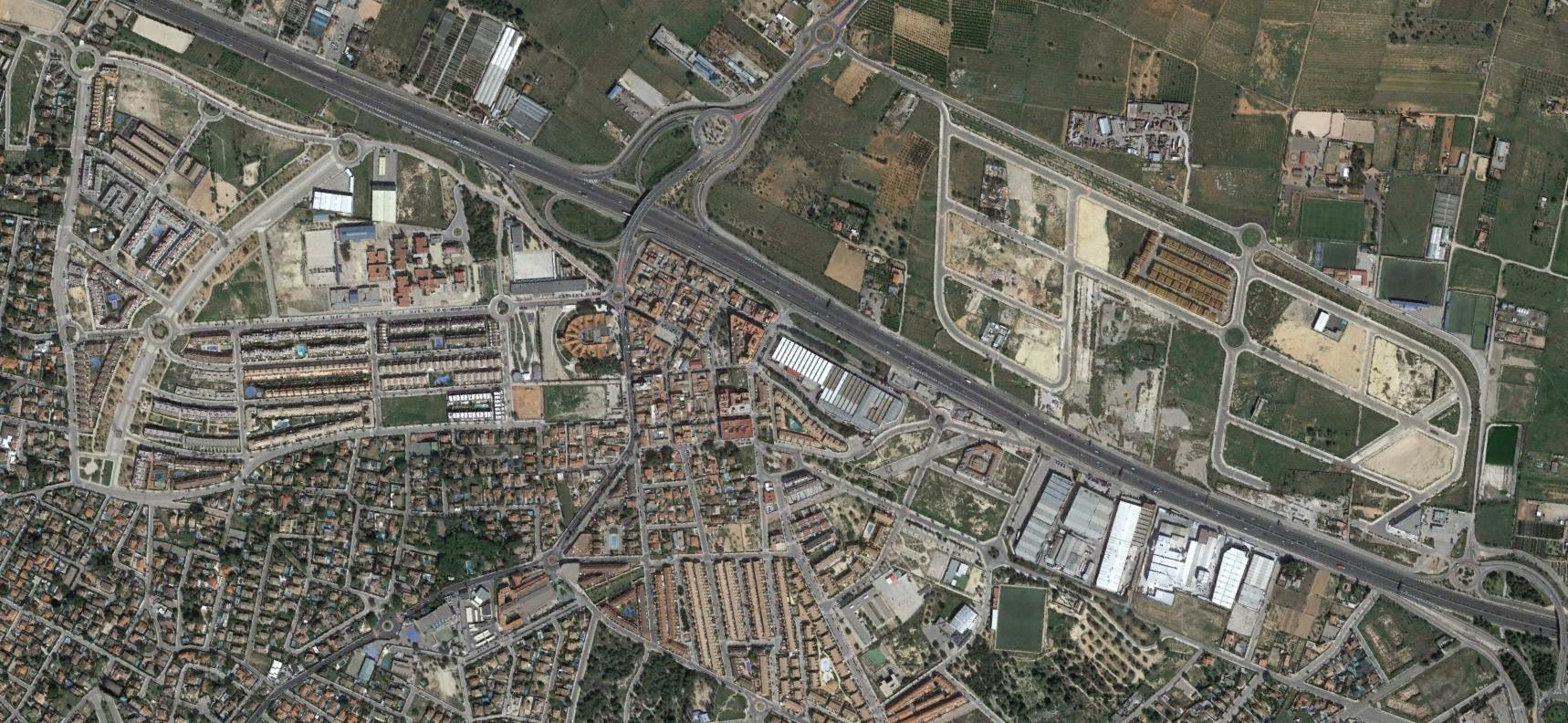 san antonio de benageber, valencia, tildes loquis, después, urbanismo, planeamiento, urbano, desastre, urbanístico, construcción, rotondas, carretera