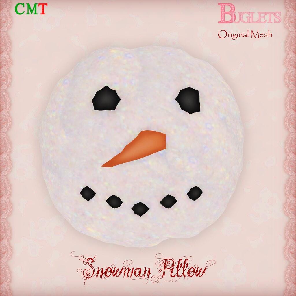 Snowman Pillow AD - TeleportHub.com Live!