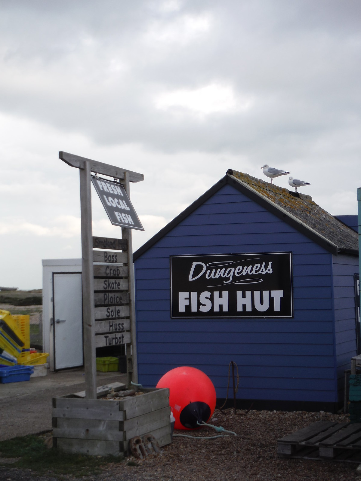 Dungeness Fish Hut SWC 154 - Rye to Dungeness and Lydd-on-Sea or Lydd or Circular