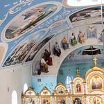 Божественная литургия в Казанском храме города Крымска