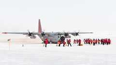 The Leave of the South Pole Winter Crew