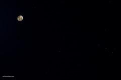 A Lua e as Três Marias