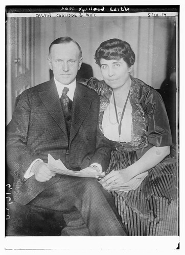 Calvin Coolidge & wife (LOC)