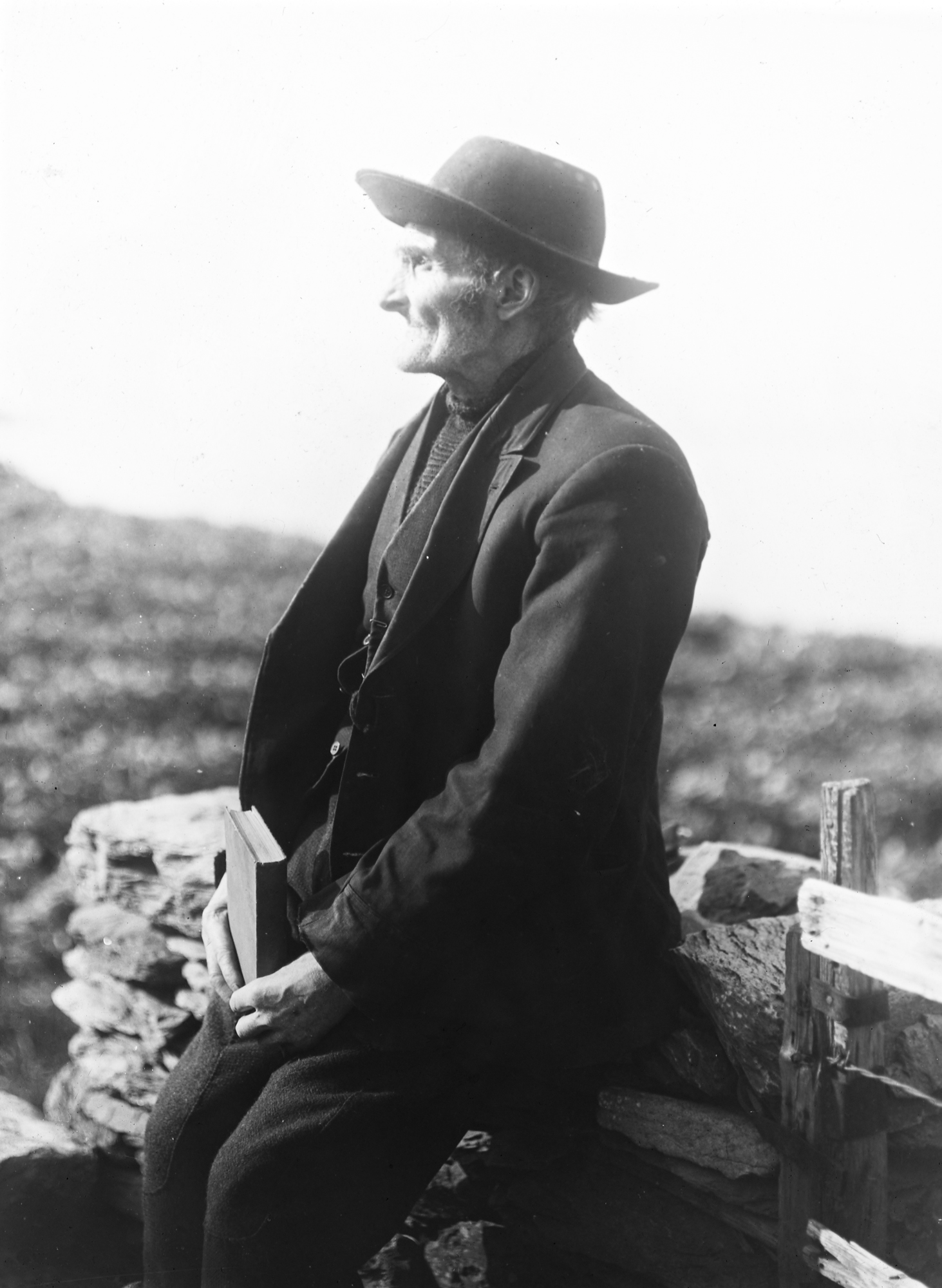 Thomas O'Criothan, Author, Great Blasket