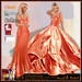 ALB SHANI dress & gown orange