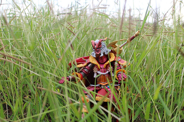 Duane Bacon Monster Hunter Teostra Charge Blade Revoltec Toy photography path finder