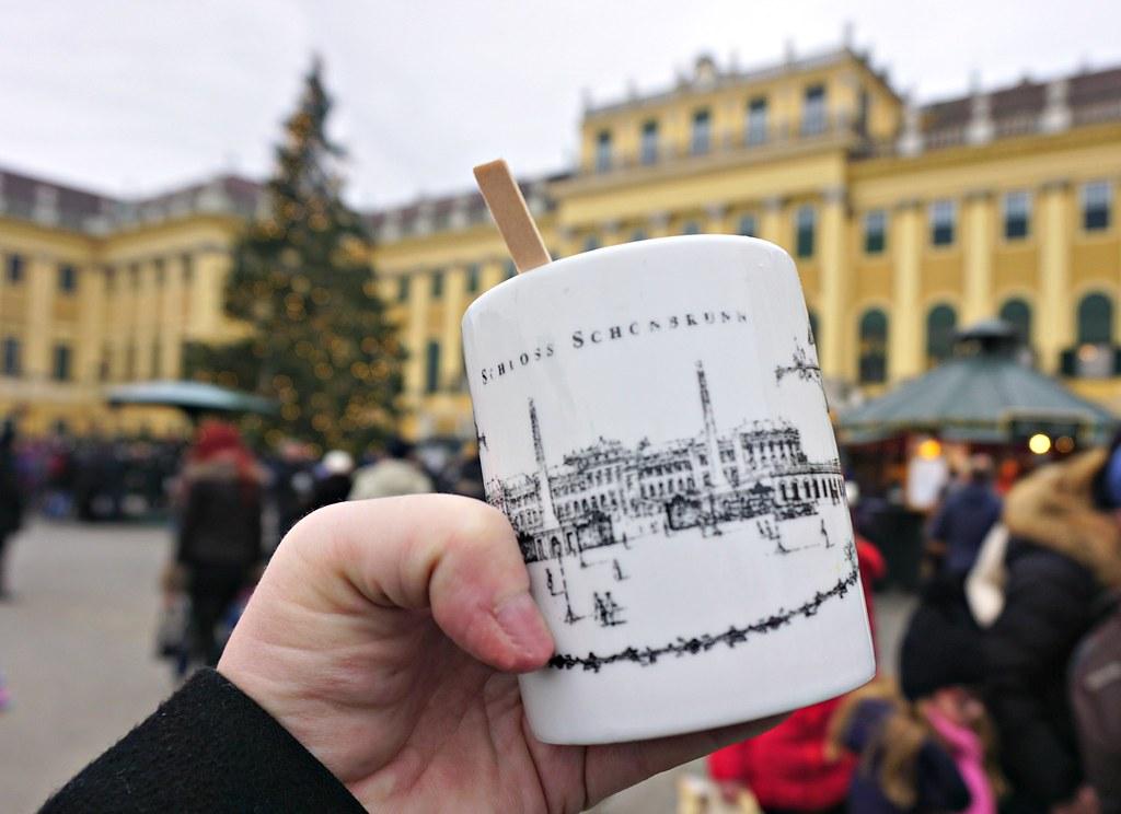 Glögimuki ja Schönbrunnin linna