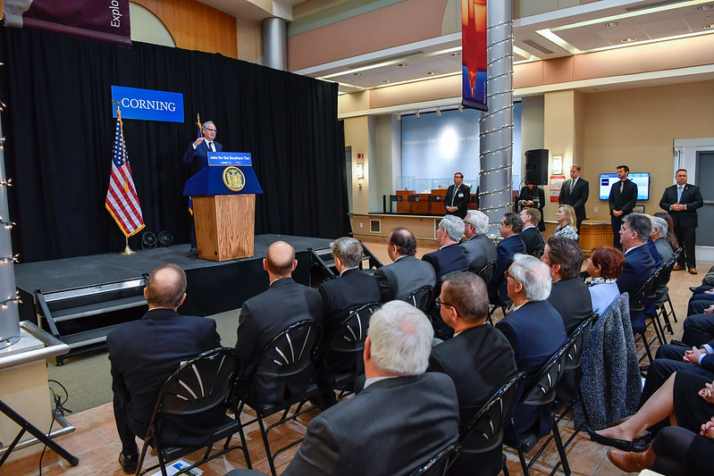Governor Cuomo Announces Corning Incorporated Will Launch New Pharmaceutical Product Line in the Southern Tier