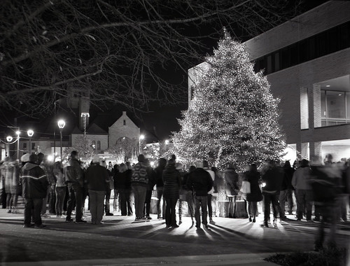 Findlay Ohio Holiday Tree Lighting