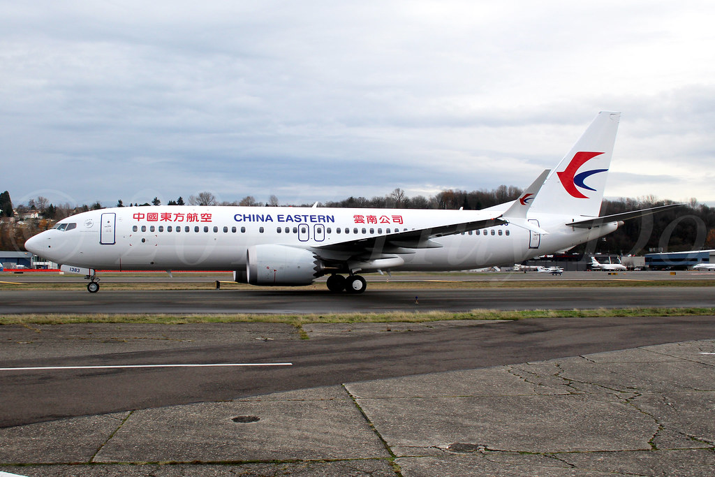 Boeing 737 MAX 8 China Eastern Airlines B-1383 LN6542