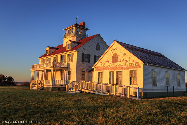 Coast Guard Station in the Morning