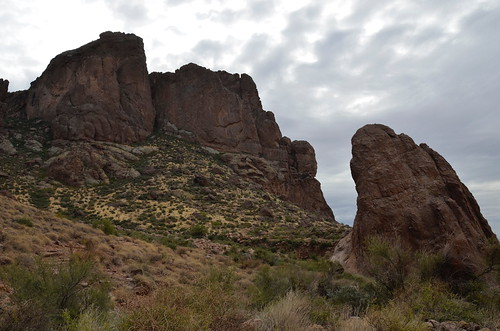 Lost Dutchman big rocks