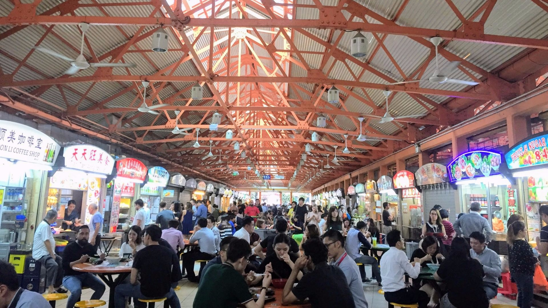 Best Hawkers and Food Markets in Singapore