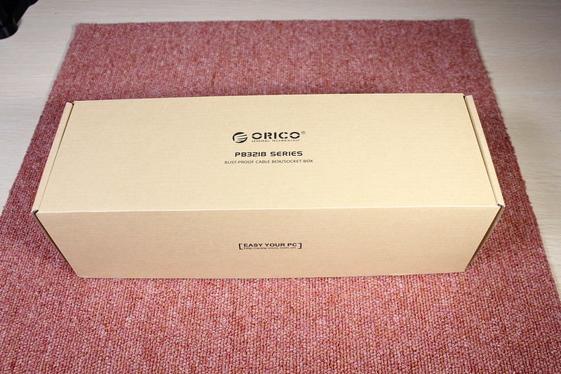 ORICO ケーブルボックス 開封レビュー (1)