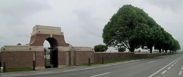 Poelcapelle War Cemetery,  Belgium