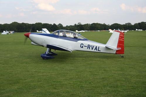 G-RVAL Van's RV-8 [PFA 303-13532] Sywell 020917