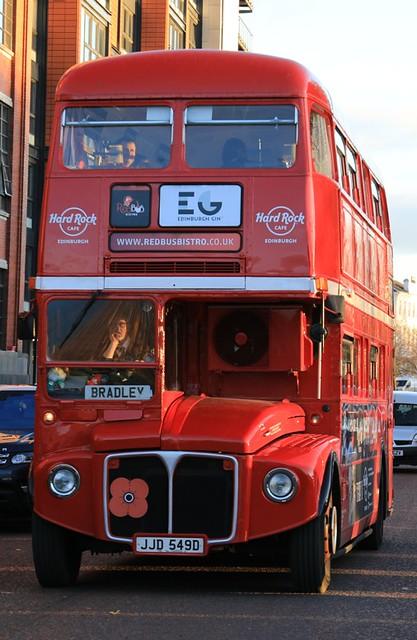 JJD 549 Routemaster, Glasgow Green.  (9N9A1351)