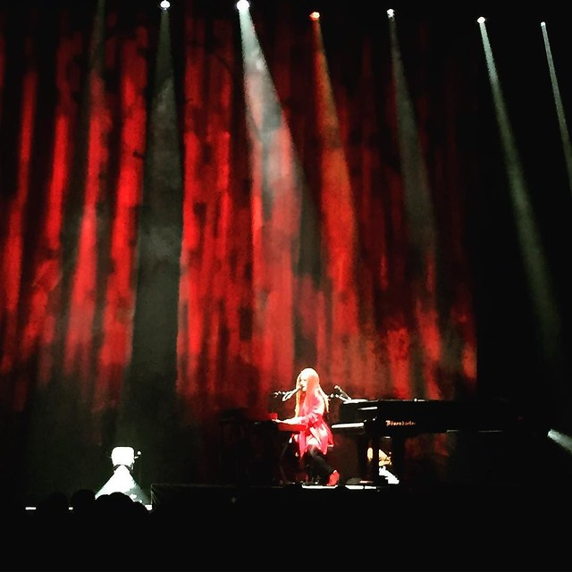 As always, @toriamos was incredible. Every time I see her...incredible.