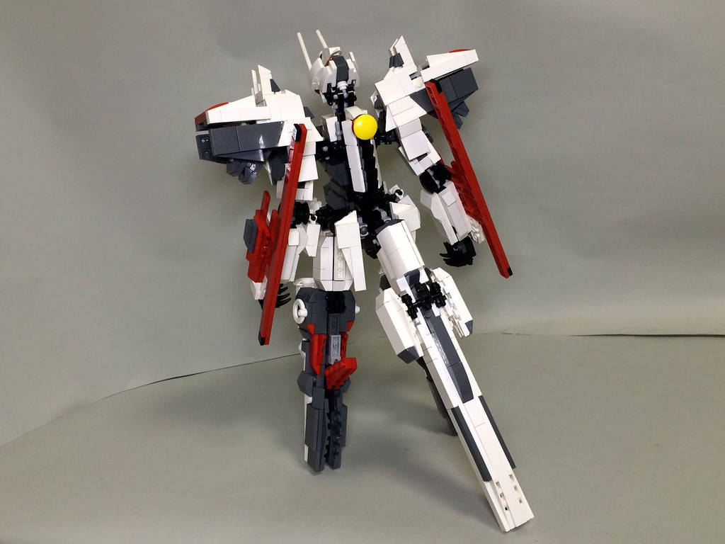Lego Linebarrel レゴで作った 漫画 鉄のラインバレル より