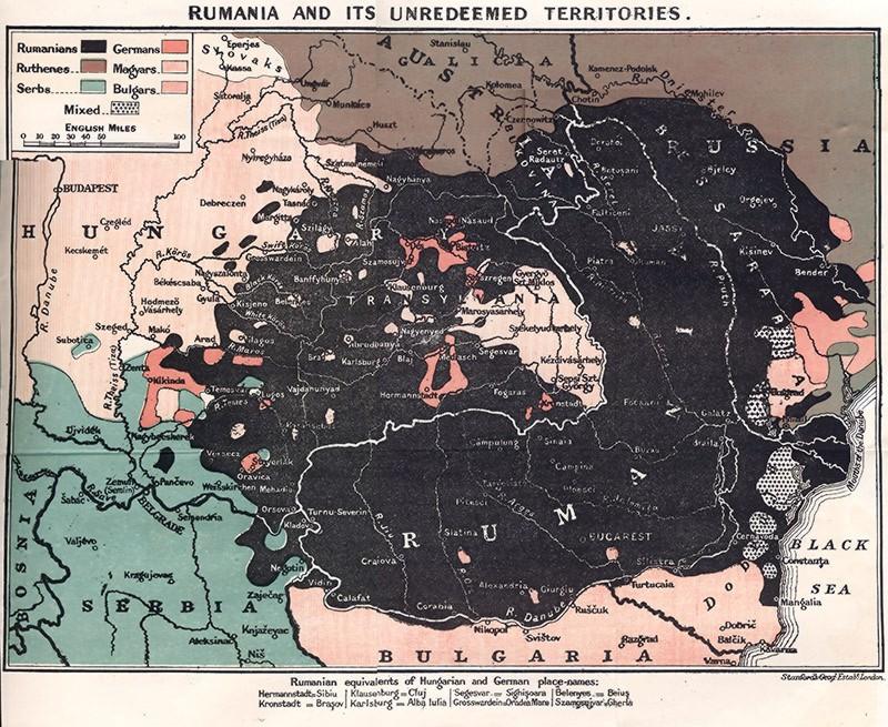 Romania just prior to World War I