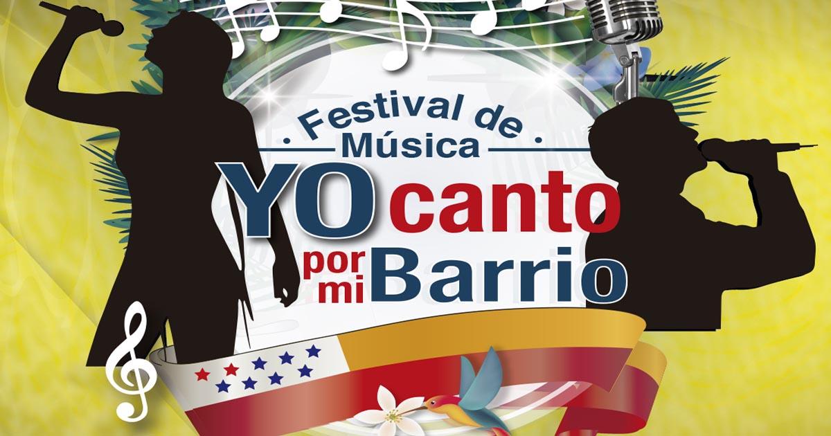 Preparan el festival de música Yo Canto por mi Barrio