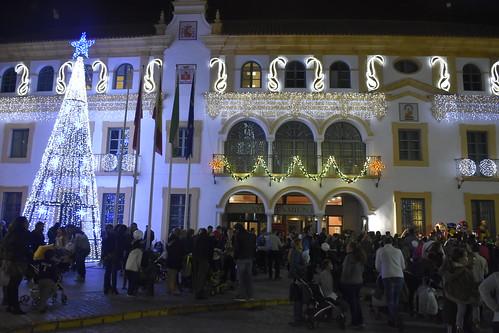 Alumbrado navideño en el Ayuntamiento
