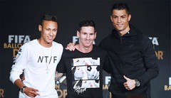 Messi, Neymar, Ronaldo looking forward to the World Cup draw