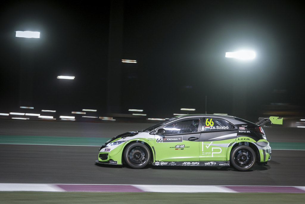 66 ZSABO Zsolt David (hun) Honda Civic team Zengo Motorsport, action during the 2017 FIA WTCC World Touring Car Championship race at Losail  from November 29 to december 01, Qatar - Photo Francois Flamand / DPPI
